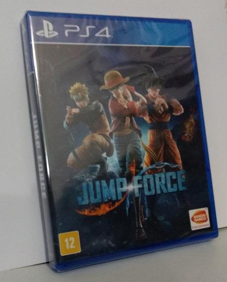 Jump Force Ps4 Mídia Física Lacrado Pronta Entrega