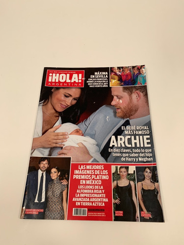Revista Hola Argentina N 444 Año 09 14 De Mayo De 2019 Mercado Libre