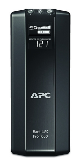 Ups Apc 900va Back-ups 6 Tomas Estabilizador Y Protector De Tension Gtia Oficial 2años Br900 Para Tv, Play, Pc
