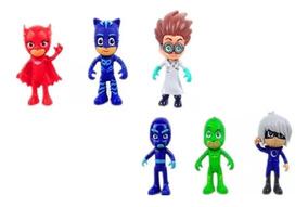 Pj Masks Heróis Kit Com 6 Bonecos