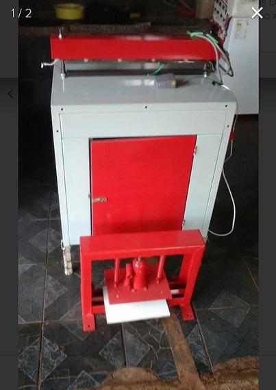 Kit Maq. Sacolas +prensa Hidráulica+impressora Semiautomátic