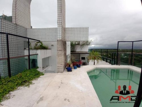 Imagem 1 de 30 de Cobertura Com 4 Dormitórios À Venda, 280 M² Por R$ 2.500.000,00 - Riviera - Módulo 6 - Bertioga/sp - Co0049