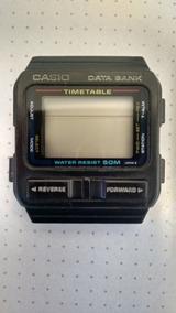 Caixa Placa Display Relógio Casio Databank Dbt70w Telememo