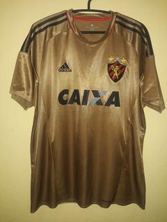 Camisa Do Sport Recife 2016 (adidas) Dourada