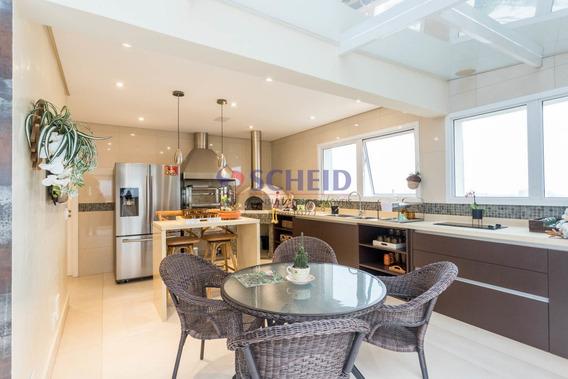 Cobertura Duplex Espetacular, Com Área Gourmet E Piscina - Mr68820