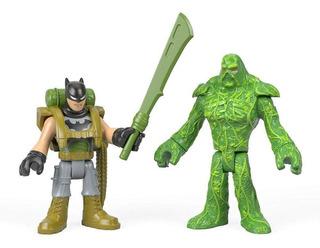 Imaginext Dc Batman E Monstro Do Pântano - Mattel
