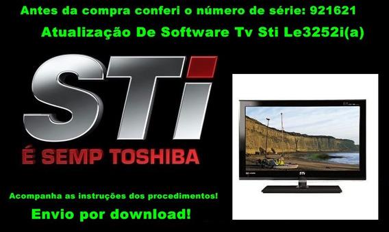 Atualização De Software Tv Sti Le3252i(a) Tamanho Da Tela 32