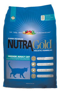 Nutra Gold Gato Adulto Indoor 3kg