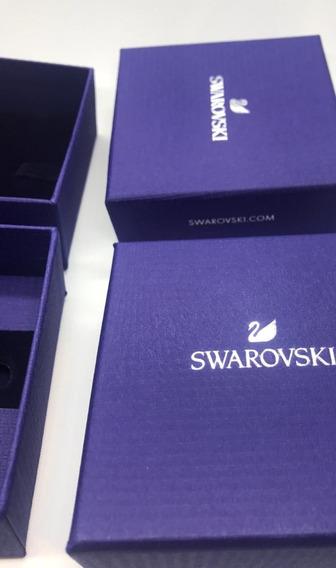 Caja De Cartón De Joyería Swarovski 2pzas