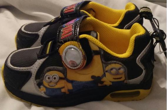 Zapatillas Niños Despicable Me Minion Made Auténticas
