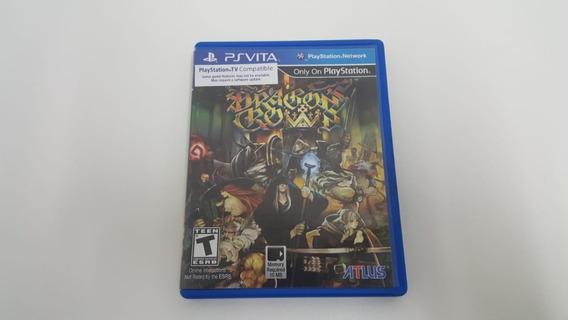 Dragons Crown - Ps Vita - Original - Mídia Física