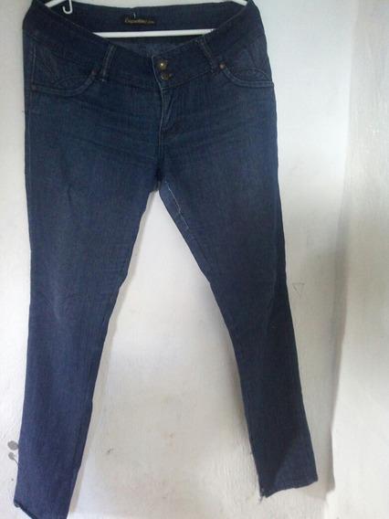 Jeans Dama Talla 12 Bota Tubito