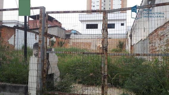 Terreno Para Alugar, 312 M² Por R$ 3.000/mês - Vila Leopoldina - São Paulo/sp - Te0355