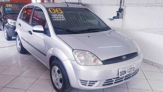 Fiesta 06 Direção Hidraulica Vidros E Travas Baixo Km