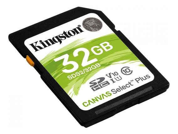 Cartão De Mem Cl 10 Kingston Sdhc 32gb 100r/85w Uhs-i