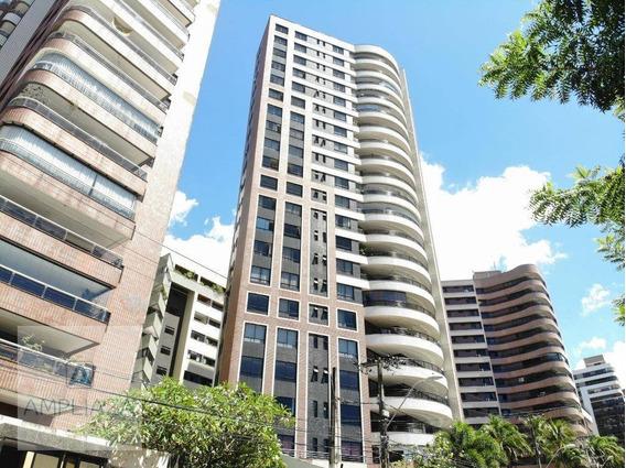 Apartamento Com 3 Dormitórios Para Alugar, 200 M² Por R$ 4.000,00/mês - Meireles - Fortaleza/ce - Ap0785