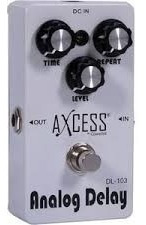 Pedal Analog Delay C/ Chave True Bypass