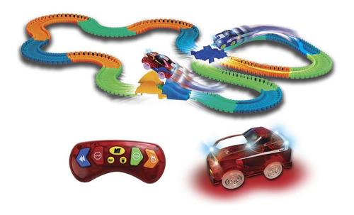 Pista De Carrera Flexible Carro Control Remoto