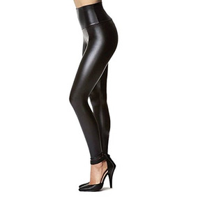 493e400c1b Pantalones De Leggings Elasticos De Piel Sintetica Tagoo Par