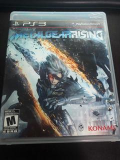 Metal Gear Rising Ps3 Físico.