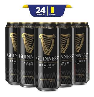 Cerveza Guinness Draught 24 Pack De 440ml C/u