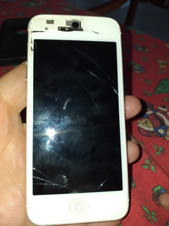 I Phone 5 S 16 Gb Roto Vidrio Original Funciona