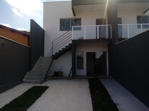 Excelente Casa Geminada Individual 2 Quartos Bairro Vale Das Orquideas - 3736