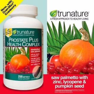 Trunature - Complexo Prostate Plus - 250 Softgels