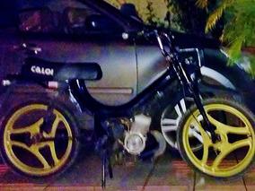 Caloi Mobilete 60cc 2 Tempos Preta