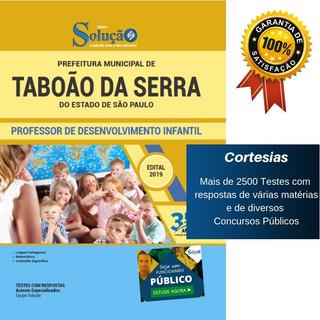 Apostila Taboão Da Serra Professor Desenvolvimento Infantil