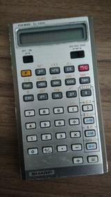 Antiga Calculadora Científica Sharp Elsi Mate El 5806