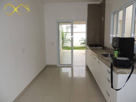 Casa Residencial Com 3 Dormitórios À Venda E Locação, 180 M² - Condomínio Campos Do Conde Ii - Paulínia/sp - Ca0381
