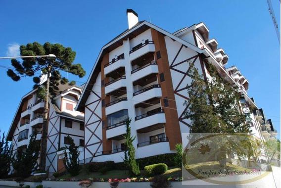Apartamento Para Venda Em Campos Do Jordão, Capivari, 4 Suítes, 1 Banheiro, 2 Vagas - 249