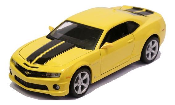 Miniatura Chevy Camaro Ss Rs 2010 Amarelo 1/24