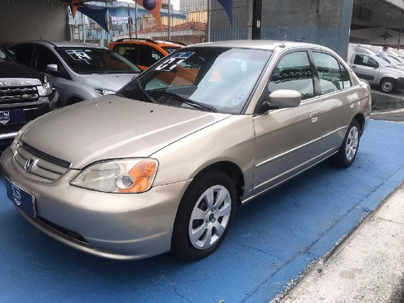 Honda Civic Sedan Lx 1.7 Gasolina Automático