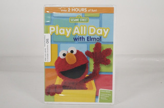 Dvd Plaza Sésamo Play All Day With Elmo(2364)