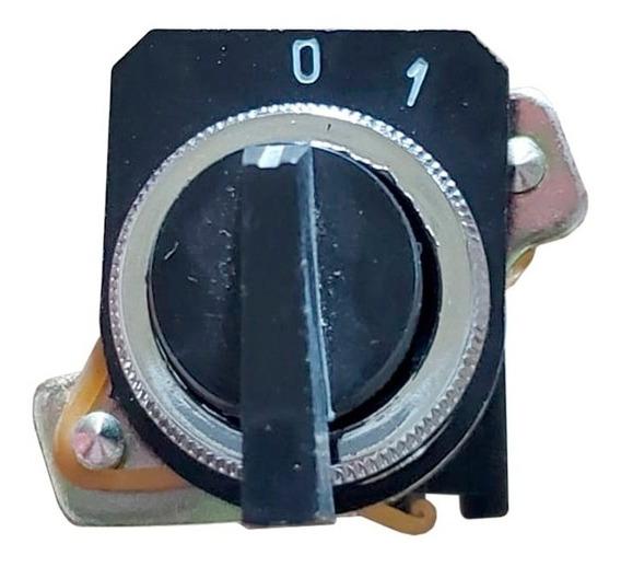 Selectora Interruptor Palanca 0-1 Tablero