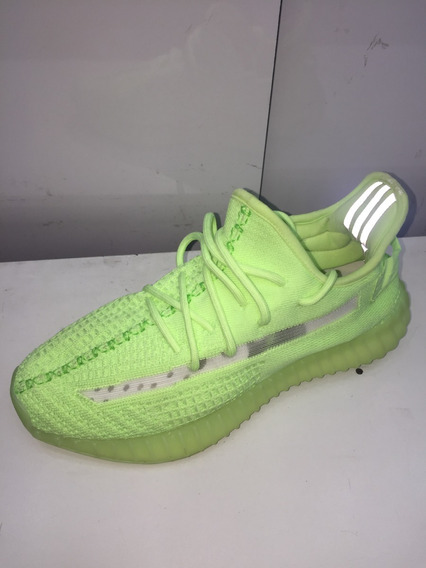 Tênis adidas Yezzy Sply Verde Florescente Neon
