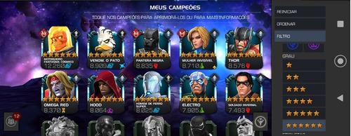 Vendo Conta Marvel Torneio Dos Campeões