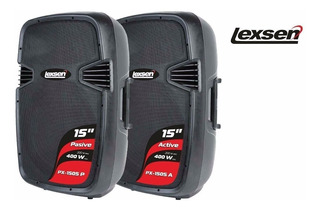 Bafles Bluetooth Lexsen Px1505a 15 400w Parlante Sd Usb Pen