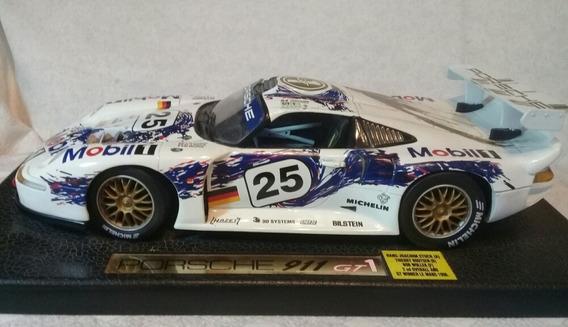 Porsche 911 Gt1 Le Mans 1996 Escala 1:18 Auto Nuevo Quilmes