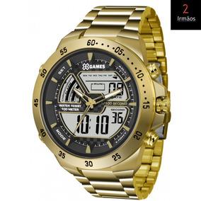 Relógio Masculino X-games Dourado Xmgsa004 Bxkx