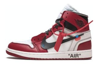 Tenis The 10: Air Jordan 1 Off-white - Chicago