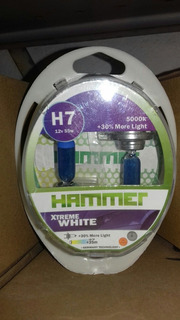 Bombillos H7, H3, H4 H1, H11, 9006 9005 Marca Hammer