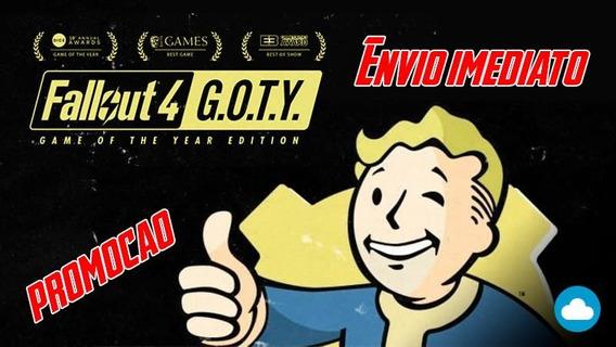 Fallout 4 Goty Edition Todas Dlc Original Steam Pc Key