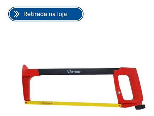 Imagem 1 de 2 de Arco De Serra 12  Para Cortes 38cm 300mm Western - As8009