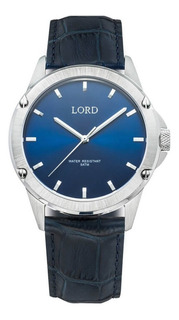 Reloj Lord Timepieces Bolt Blue Silver Watch