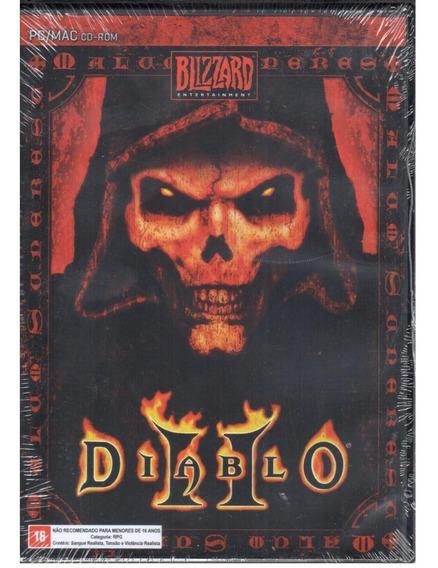 Diablo 2 Ii D2 Pc Original Lacrado Raríssimo!!