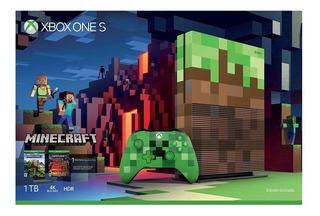Consola Xbox One S 1tb Minecraft Le