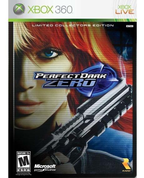 Jogo Perfect Dark Zero Xbox 360 Midia Fisica Lacrado